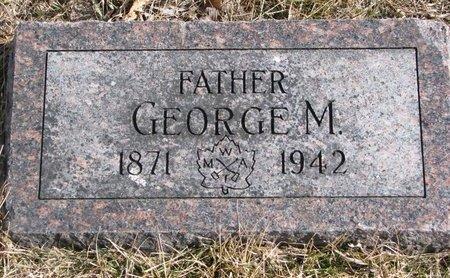 CARR, GEORGE M. - Dodge County, Nebraska | GEORGE M. CARR - Nebraska Gravestone Photos
