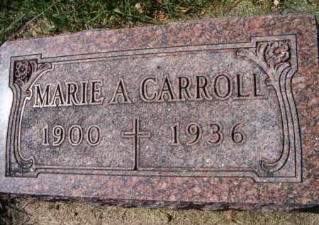 CARROLL, MARIE A - Dodge County, Nebraska   MARIE A CARROLL - Nebraska Gravestone Photos