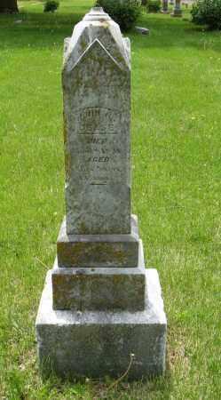 CEASE, JOHN W. - Dodge County, Nebraska | JOHN W. CEASE - Nebraska Gravestone Photos
