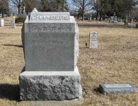 CHAMBERS, SAMUEL J. - Dodge County, Nebraska   SAMUEL J. CHAMBERS - Nebraska Gravestone Photos