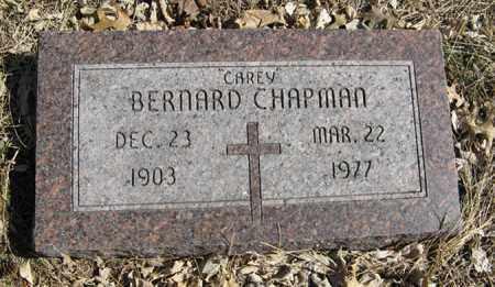 CHAPMAN, BERNARD - Dodge County, Nebraska | BERNARD CHAPMAN - Nebraska Gravestone Photos