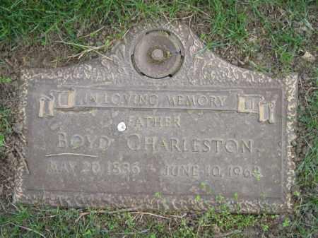 CHARLESTON, BOYD - Dodge County, Nebraska | BOYD CHARLESTON - Nebraska Gravestone Photos
