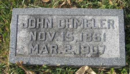 CHMELER, JOHN - Dodge County, Nebraska | JOHN CHMELER - Nebraska Gravestone Photos