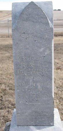 CLARK, EARL V. - Dodge County, Nebraska | EARL V. CLARK - Nebraska Gravestone Photos