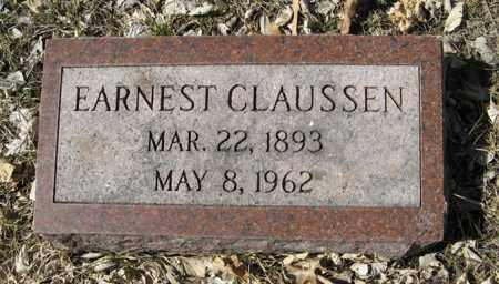CLAUSSEN, EARNEST - Dodge County, Nebraska | EARNEST CLAUSSEN - Nebraska Gravestone Photos