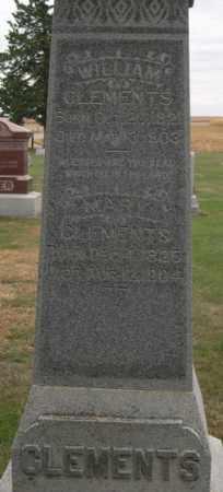 CLEMENTS, MARY ANN - Dodge County, Nebraska | MARY ANN CLEMENTS - Nebraska Gravestone Photos