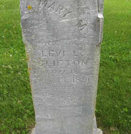 CLIFTON, MARY M. (CLOSE UP) - Dodge County, Nebraska | MARY M. (CLOSE UP) CLIFTON - Nebraska Gravestone Photos