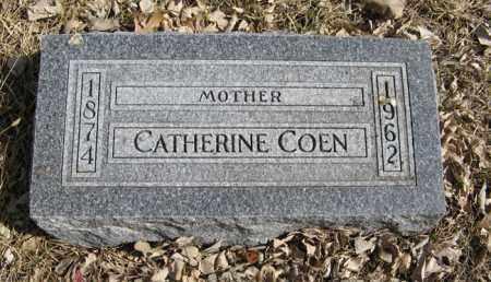 COEN, CATHERINE - Dodge County, Nebraska | CATHERINE COEN - Nebraska Gravestone Photos