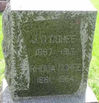 COHEE, J.C. - Dodge County, Nebraska | J.C. COHEE - Nebraska Gravestone Photos