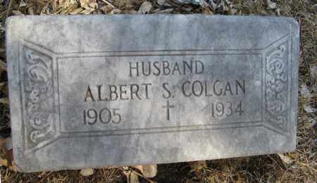 COLGAN, ALBERT S. - Dodge County, Nebraska   ALBERT S. COLGAN - Nebraska Gravestone Photos
