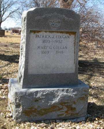 COLGAN, PATRICK J. - Dodge County, Nebraska | PATRICK J. COLGAN - Nebraska Gravestone Photos