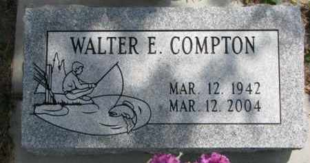 COMPTON, WALTER E. - Dodge County, Nebraska   WALTER E. COMPTON - Nebraska Gravestone Photos