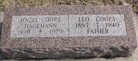 COOPS, LEO - Dodge County, Nebraska | LEO COOPS - Nebraska Gravestone Photos