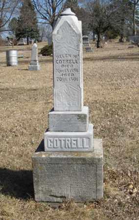 COTRELL, HELEN M. - Dodge County, Nebraska | HELEN M. COTRELL - Nebraska Gravestone Photos