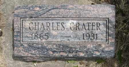 CRATER, CHARLES - Dodge County, Nebraska   CHARLES CRATER - Nebraska Gravestone Photos