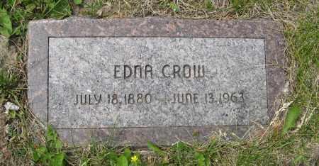 CROW, EDNA - Dodge County, Nebraska   EDNA CROW - Nebraska Gravestone Photos