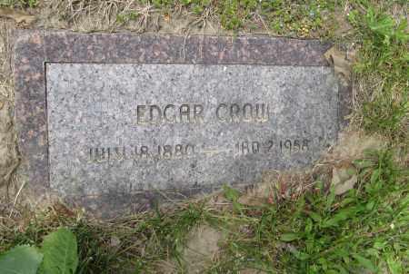 CROW, EDGAR - Dodge County, Nebraska | EDGAR CROW - Nebraska Gravestone Photos