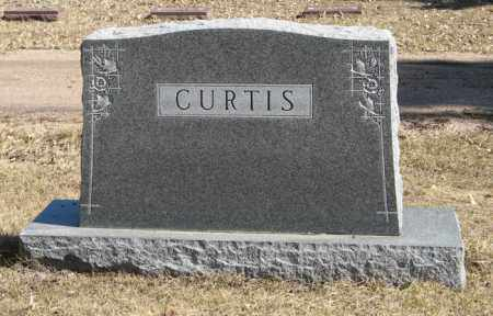 CURTIS, (FAMILY MONUMENT) - Dodge County, Nebraska | (FAMILY MONUMENT) CURTIS - Nebraska Gravestone Photos