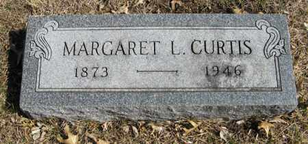CURTIS, MARGARET L. - Dodge County, Nebraska | MARGARET L. CURTIS - Nebraska Gravestone Photos