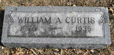 CURTIS, WILLIAM A. - Dodge County, Nebraska | WILLIAM A. CURTIS - Nebraska Gravestone Photos