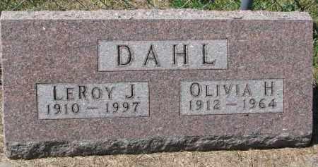DAHL, OLIVIA H. - Dodge County, Nebraska | OLIVIA H. DAHL - Nebraska Gravestone Photos