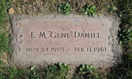 DANIEL, E.M. - Dodge County, Nebraska | E.M. DANIEL - Nebraska Gravestone Photos