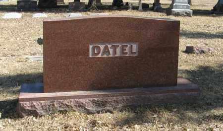 DATEL, (FAMILY MONUMENT) - Dodge County, Nebraska | (FAMILY MONUMENT) DATEL - Nebraska Gravestone Photos