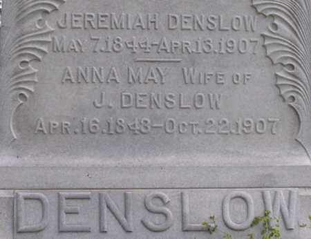 SUTTON DENSLOW, ANNA - Dodge County, Nebraska | ANNA SUTTON DENSLOW - Nebraska Gravestone Photos