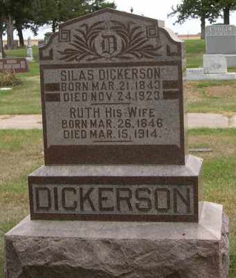 DICKERSON, RUTH - Dodge County, Nebraska | RUTH DICKERSON - Nebraska Gravestone Photos