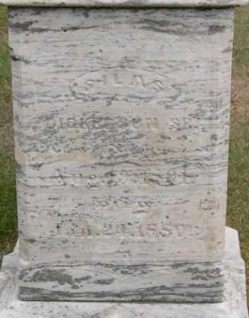 DICKERSON, SILAS, SR. - Dodge County, Nebraska | SILAS, SR. DICKERSON - Nebraska Gravestone Photos