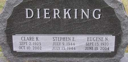DIERKING, STEPHEN - Dodge County, Nebraska | STEPHEN DIERKING - Nebraska Gravestone Photos