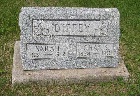 DIFFEY, CHAS. S. - Dodge County, Nebraska | CHAS. S. DIFFEY - Nebraska Gravestone Photos