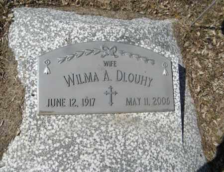 DLOUHY, WILMA A. - Dodge County, Nebraska | WILMA A. DLOUHY - Nebraska Gravestone Photos