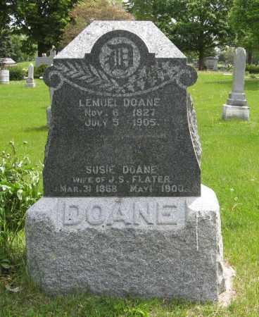 DOANE FLATER, SUSIE - Dodge County, Nebraska | SUSIE DOANE FLATER - Nebraska Gravestone Photos