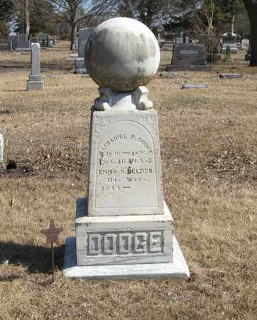 BELDEN DODGE, EMMA S. - Dodge County, Nebraska | EMMA S. BELDEN DODGE - Nebraska Gravestone Photos