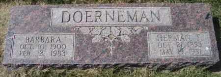 DOERNEMAN, BARBARA - Dodge County, Nebraska | BARBARA DOERNEMAN - Nebraska Gravestone Photos