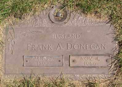 DONEGAN, FRANKLIN 'FRANK' ADELBERT - Dodge County, Nebraska   FRANKLIN 'FRANK' ADELBERT DONEGAN - Nebraska Gravestone Photos