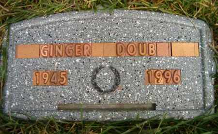 DOUB, GINGER LEE - Dodge County, Nebraska | GINGER LEE DOUB - Nebraska Gravestone Photos