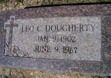 DOUGHERTY, LEO C - Dodge County, Nebraska | LEO C DOUGHERTY - Nebraska Gravestone Photos