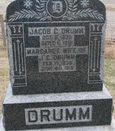 DRUMM, MARGARET - Dodge County, Nebraska | MARGARET DRUMM - Nebraska Gravestone Photos