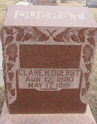 FALTIN DUERST, CLARE H. - Dodge County, Nebraska | CLARE H. FALTIN DUERST - Nebraska Gravestone Photos