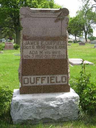 DUFFIELD, JAMES E. - Dodge County, Nebraska | JAMES E. DUFFIELD - Nebraska Gravestone Photos