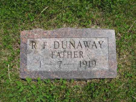 DUNAWAY, R. F. - Dodge County, Nebraska | R. F. DUNAWAY - Nebraska Gravestone Photos