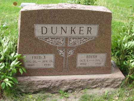 DUNER, EDITH - Dodge County, Nebraska | EDITH DUNER - Nebraska Gravestone Photos