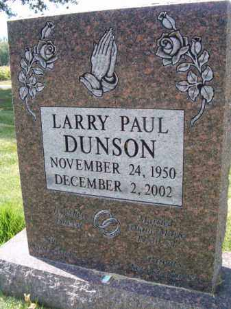 DUNSON, LARRY PAUL - Dodge County, Nebraska | LARRY PAUL DUNSON - Nebraska Gravestone Photos