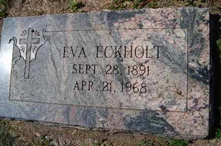 ECKHOLT, EVA - Dodge County, Nebraska | EVA ECKHOLT - Nebraska Gravestone Photos