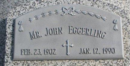 EGGERLING, JOHN - Dodge County, Nebraska | JOHN EGGERLING - Nebraska Gravestone Photos