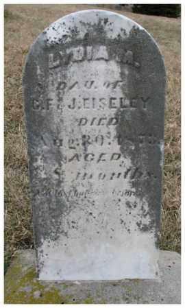 EISELEY, LYDIA M. - Dodge County, Nebraska   LYDIA M. EISELEY - Nebraska Gravestone Photos