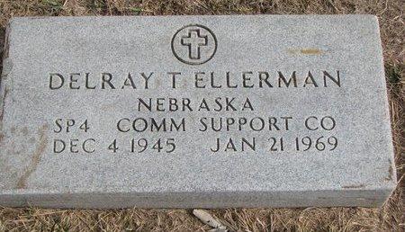 ELLERMAN, DELRAY T. (MILITARY) - Dodge County, Nebraska   DELRAY T. (MILITARY) ELLERMAN - Nebraska Gravestone Photos