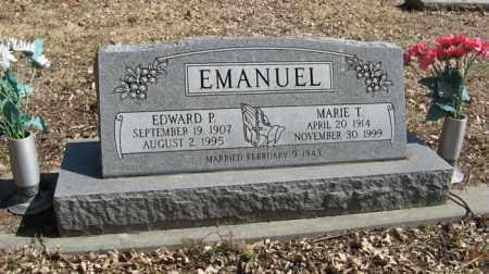 EMANUEL, EDWARD P. - Dodge County, Nebraska | EDWARD P. EMANUEL - Nebraska Gravestone Photos
